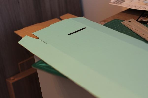 Cardboard lid